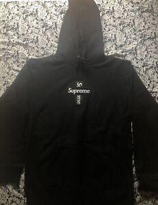 Supreme Cross Box Logo Black FW20 Size Small