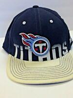Reebok Tennessee Titans L/XL Equipment NFL OnField Cap Hat