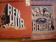 Lazerdisc - Lot Set, Box Set Of Ben Hur, plus Deluxe Letterbox Edition Ben-Hur