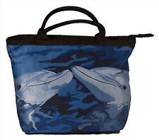 Dolphin Handbag- Small Purse -From my Original Painting, The Kiss