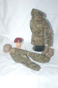 1/6 British Parachute Regiment uniform Muticam MTP uniform Helmet lot