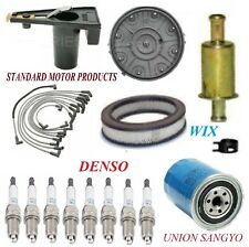 Tune Up Kit Filters Cap Plugs For FORD THUNDERBIRD V8 4.2L;5.0L;METAL IN-LINE 80