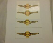 LIONEL 2333,43,53,83 SANTE FE AA F-3 NOSE CLEAR WATERSLIDE 4 DECAL PER SET LOOK!