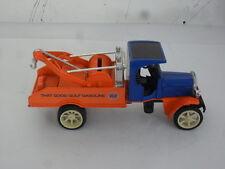 1993 Gulf Oil 1925 Kenworth Tow Truck Ertl B107 Bank 1/16 Die Cast .