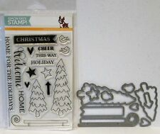 Simon Says Stamp HOME FOR THE HOLIDAYS Stamps and DIES STAMPtember Christmas