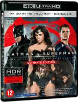 Blu Ray 4K + Blu Ray : Batman V Superman L'aube de la justice - NEUF
