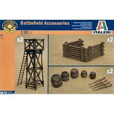 Italeri 6870 Battlefield Accessories 1/32 scale plastic model kit 54mm