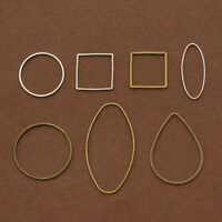 10 Pcs Copper Closed Circle Jump Ring DIY Jewelry Findings Repair Connectors