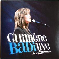 "CHIMENE BADI - CD PROMO ""LIVE A L'OLYMPIA"" (EXTRAITS: 14 TITRES)"