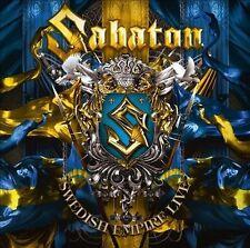 Swedish Empire Live by Sabaton (CD/DVD 2013, Nuclear Blast) SEALED! FREE SHIP