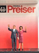 Preiser 1/87 HO President Obama and MichelleScale Figures 28144