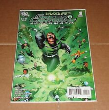 War of the Green Lanterns Aftermath #1 Sepulveda Variant Edition 1st Print