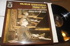 Liszt Piano Concerto No 2 & Totentanz LP  Janos Soloym  SWISS IMPORT STEREO