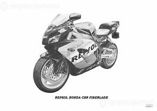 Repsol Honda CBR Fireblade Gift For Bike Owner Picture
