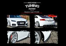 Bodykit Frontspoiler Diffusor Schweller ABS für Audi TTS 8S Coupe Roadster ABE