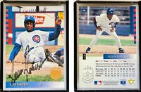 Kevin Roberson Signed 1993 SP #88 Card Chicago Cubs Auto Autograph