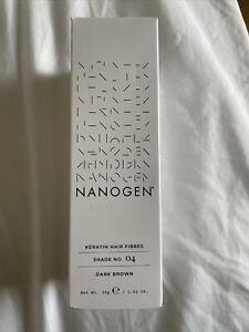 Nanogen Keratin Thickening Hair Fibres 30 g, Dark Brown