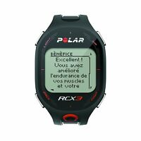 Polar RCX3 Watch Black Heart Rate Monitor Tracking Fitness Running Exercise