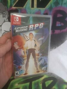 SWITCH: Limited Run Games #5 Saturday Morning RPG (Brand New, Factory Sealed)