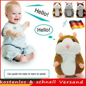 Sprechende Hamster Kuscheltier Plüschtier Spielzeug Talking Toy Kindergeschenke