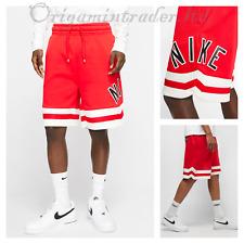 Nike Men's Air Fleece Casual Short Red AR1829-657