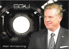2010 Stargate Universe Season 1 Costumes Alan Armstrong White Shirt Relic Card