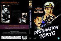 Destination Tokyo,1943 (DVD,All,Sealed,New)Delmer Daves,Cary Grant,John Garfield