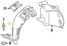 Mercedes - Benz ML OEM Fender Liner Splash Guard 1668802905 Front Right GENUINE
