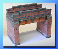 7mm Scale Railway Bridge , Card Kit , Ideal for O Gauge Trains, Trams, Cars 1:43