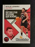 E16 2019-20 Panini Chronicles KYLE LOWRY Toronto Raptors BASE #8
