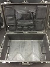 PELICAN 1650 Waterproof Pressurized Case w/Organizer Wheels & Retractable Handle