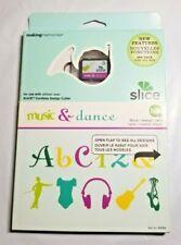 Making Memories Slice Design Card Music & Dance 33069 Notes Instruments