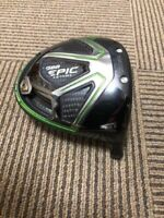 Used golf club Callaway GBB EPIC STAR 10.5 ° driver head only from japan