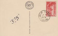Carte  maximum   FRANCE   Musées   Nationaux   PARIS    1937