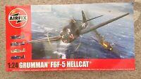 AIRFIX A19004 1/24 scale Grumman F6F-5 Hellcat Plastic Model Kit