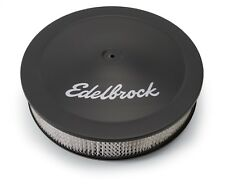 "Edelbrock 1223 Black Air Cleaner for Edelbrock Carbs - 14"" Diameter 3"" Filter"