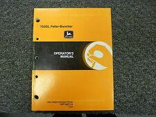John Deere 753GL Feller Buncher Owner Operator Maintenance Manual OMT186073