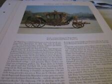 Wien Archiv 6 6017 Prunk- &  Imperialwagemn des Wiener Hofs
