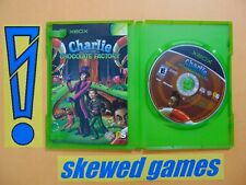 Charlie and the Chocolate Factory - cib - Mint - XBox Microsoft