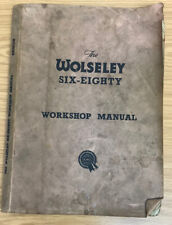 Wolseley Six Eighty Workshop Manual, Used