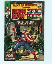 Tales of Suspense 70 6.5 FN+ Iron Man Captain America Marvel Comics Silver Age