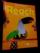 Calif. National Geographic Reach Language Cengage Learning 2017 Textbook Grade 3