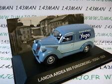 1/43 IXO Altaya Véhicules d'époque ITALIE  LANCIA ARDEA 800 furgoncino Yoga 1953