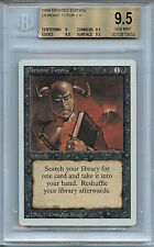 MTG Revised Demonic Tutor BGS 9.5 Gem Mint Magic Card  Amricons 5633