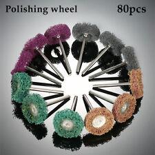 Abrasive Wheel Buffing Polishing 80 Pcs 25mm Grinding Wheels Dremel Rotary Tool