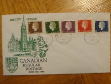 1963, QEII Cameo issue.Lot of 13 FDC's