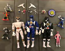MMPR power rangers action figure 16x Lot - 1990s Loose Parts