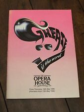 Grease the Musical - Original 1996 Theatre Programme - Starring Shane Ritchie