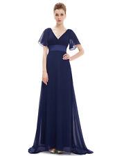 Ever-Pretty Ladies Formal Ruffles V-neck Cocktail Summer Beach Maxi Dress 09890