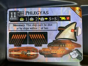 Phlegyas LE 211 | Pirates of the Mysterious Islands | WizKids Limited Edition